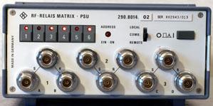Image of Rohde-Schwarz-PSU-RF-Relay-Matrix-for-programming-IEEE-DC-to-6 by Instrumex GmbH